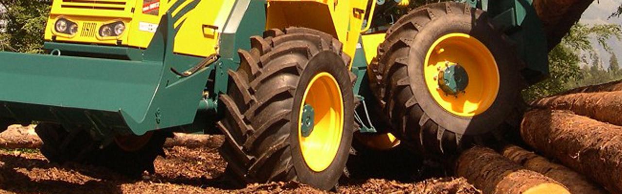 Forst- und Baumaschinen