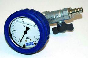 Handgerät Airbooster mit Manometer