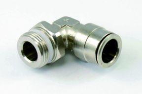 Winkel Steckverschraubung auf 14er PA Rohr M22x1.5